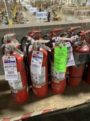 (8) ADGER FIRE EXTINGUISHERS 16 LBS