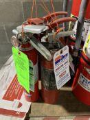 (5) AMEREX FIRE EXTINGUISHERS 2.5 LBS