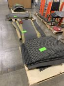 4 PALLETS OF WORK STATION FLOOR MATS