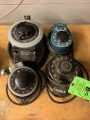 LOT OF (4) VARIOUS VARIABLE CONTROLLERS -- 1901 NOBLE DR EAST CLEVELAND OHIO 44112