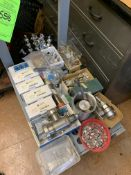 LOT OF VARIOUS MDC VACUUM PUMP FITTINGS -- 1901 NOBLE DR EAST CLEVELAND OHIO 44112