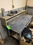 WORK TABLE 6'X2.5' -- 1901 NOBLE DR EAST CLEVELAND OHIO 44112