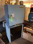 BLUE-M OVEN: MODEL 480A SERIAL 5129 120V/1PH/60HZ -- 1901 NOBLE DR EAST CLEVELAND OHIO 44112