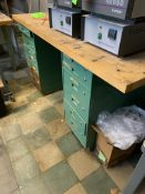 WORKPLAE DRAWERS/WOOD TOP TABLE -- 1901 NOBLE DR EAST CLEVELAND OHIO 44112