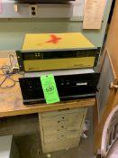 (1) AIRCO TEMESAL FDC-8000 FILM DESPOSITION CONTROLLER; (1) SORENSON DCR 300-16T POWER SUPPLY --