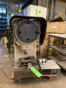 (1) NIKON PROFILE PROJECTOR/ OPTICAL COMPARITOR MODEL 6C NO.8058; (1) NIKON CM-6F DIGITAL COUNTER --