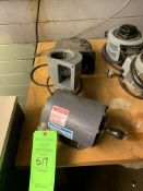 LOT OF (2) MISC BLOWER MOTORS; (1) CENTURY 1/4 HP MOTOR -- 1901 NOBLE DR EAST CLEVELAND OHIO 44112