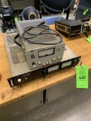 (1) SORENSON DCR 150-3D POWER SUPPLY; (1) HP 6291A DC POWER SUPPLY -- 1901 NOBLE DR EAST CLEVELAND