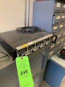 (1) UNIT URS 100-5 CALIBRATION-FLOW CONTROLLER; (1) BAUSCH & LOMB 31-35-28 MICROSCOPE VARIABLE