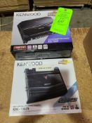 (2) KENWOOD STEREO / BRIDGEABLE POWER AMP KAC-5207' (1) KENWOOD STEREO / BRIDGEABLE POWER AMP KAC-