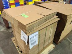 """(120) CARDBOARD BOXES 18""""X18""""X18"""""""