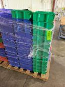 PALLET OF VARIOUS AKROBIN PLASTIC BINS