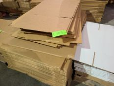 PALLET OF VARIOUS CARDBOARD BOXES
