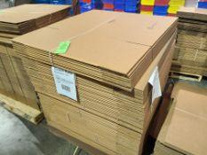 """(104) CARDBOARD BOXES 32.5""""X14.875""""X27"""""""