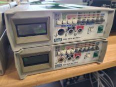 (2) FLUKE 8050 A DIGITAL MULTIMETER
