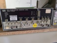 HP 8111A PULSE / FUNCTION GENERATOR