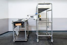Bronco DC, Seco Gravity Feed Tablet Sorter with Sorting Table