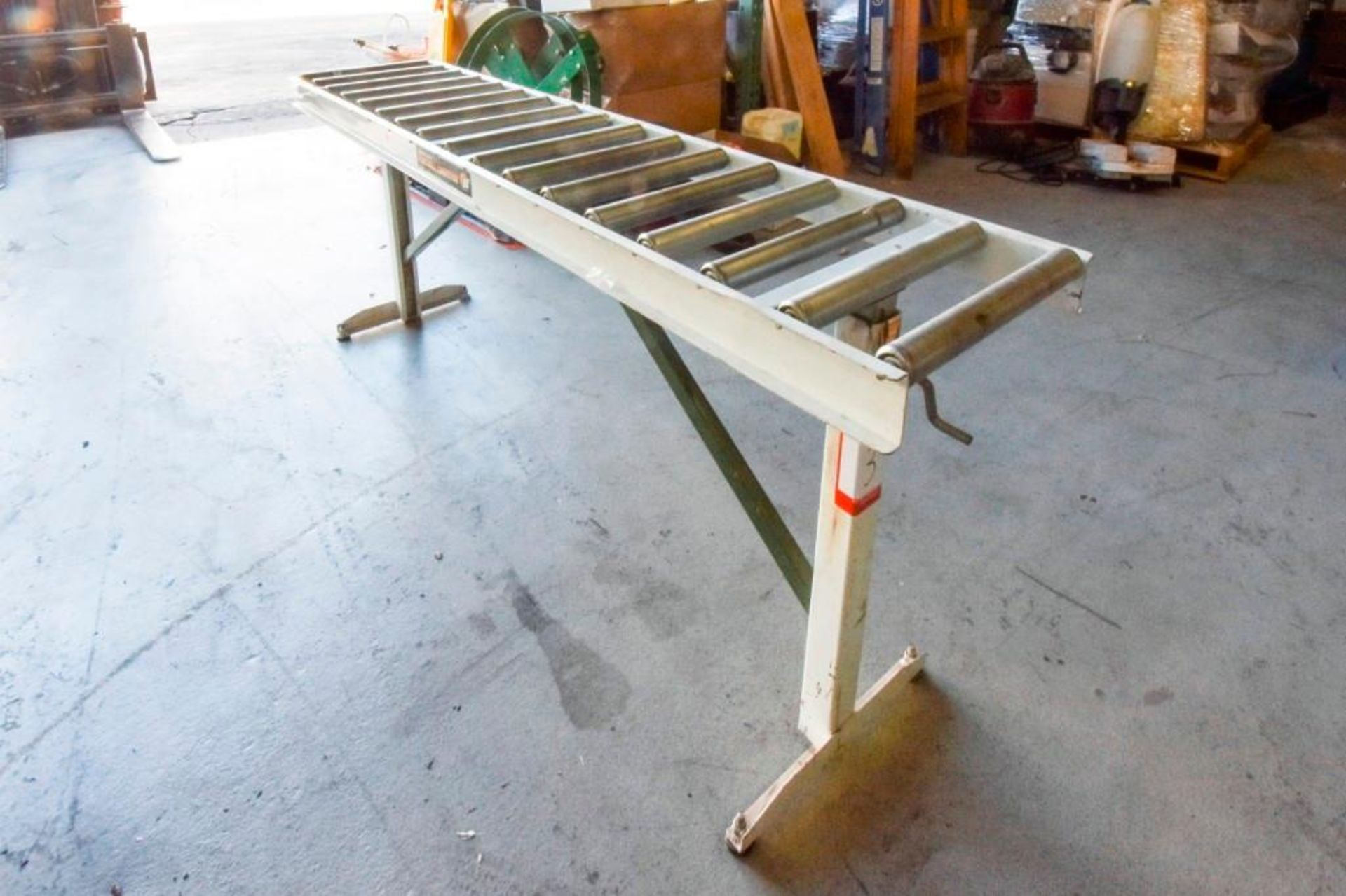 Super Duty Portable Folding Roller Conveyor 5'7'' - Image 5 of 11