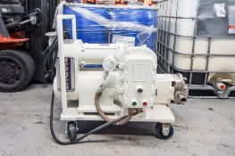 Reeves Positive Displacement Pump on Cart