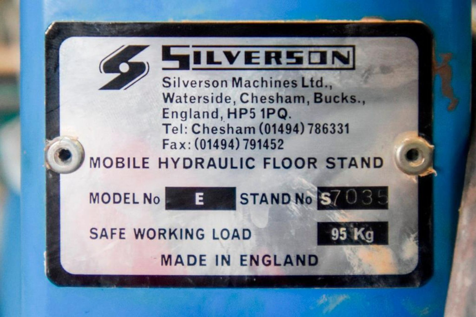 Silverson EX60 High Sheer Batch Mixer - Image 18 of 18