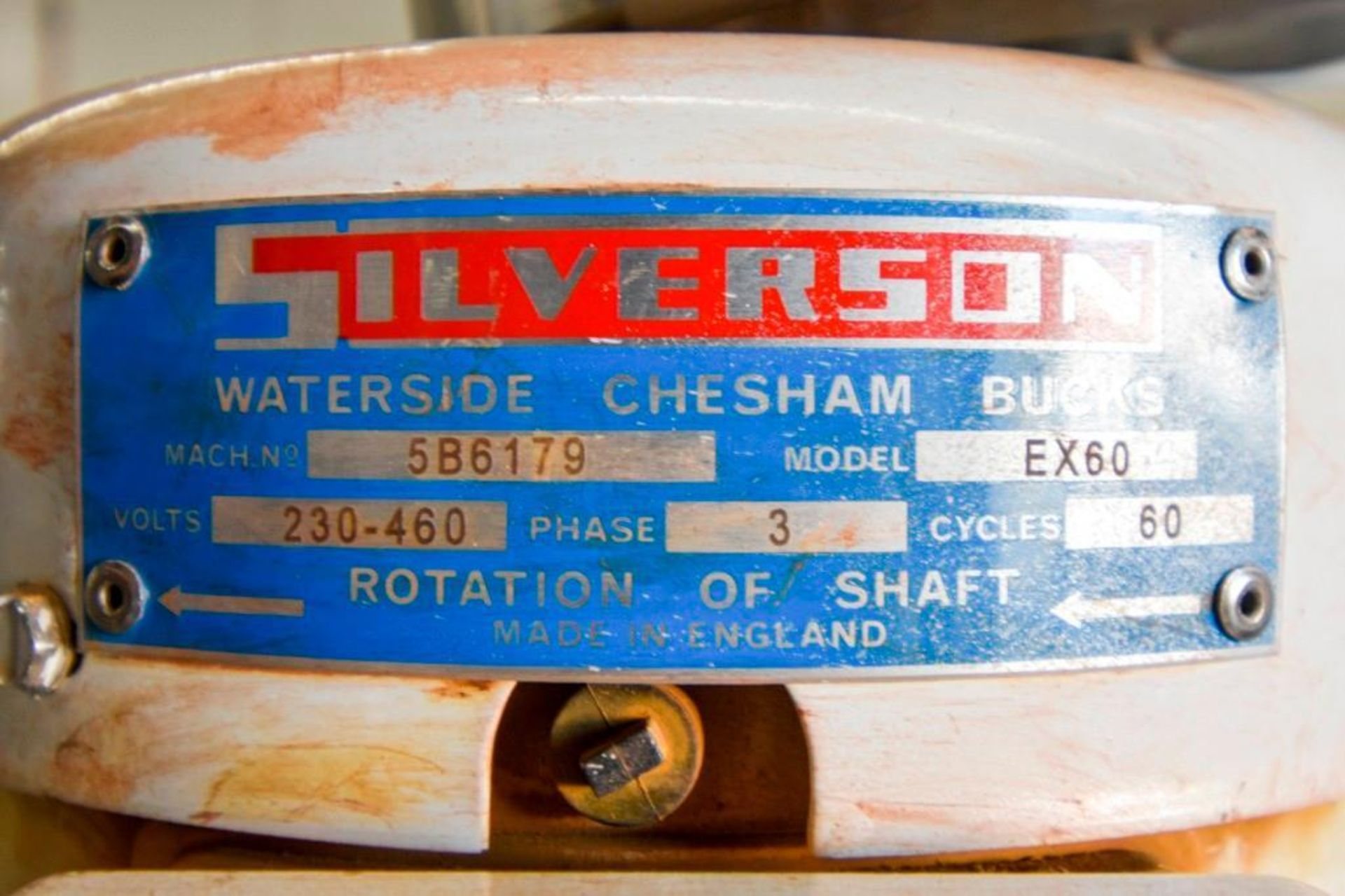 Silverson EX60 High Sheer Batch Mixer - Image 16 of 18