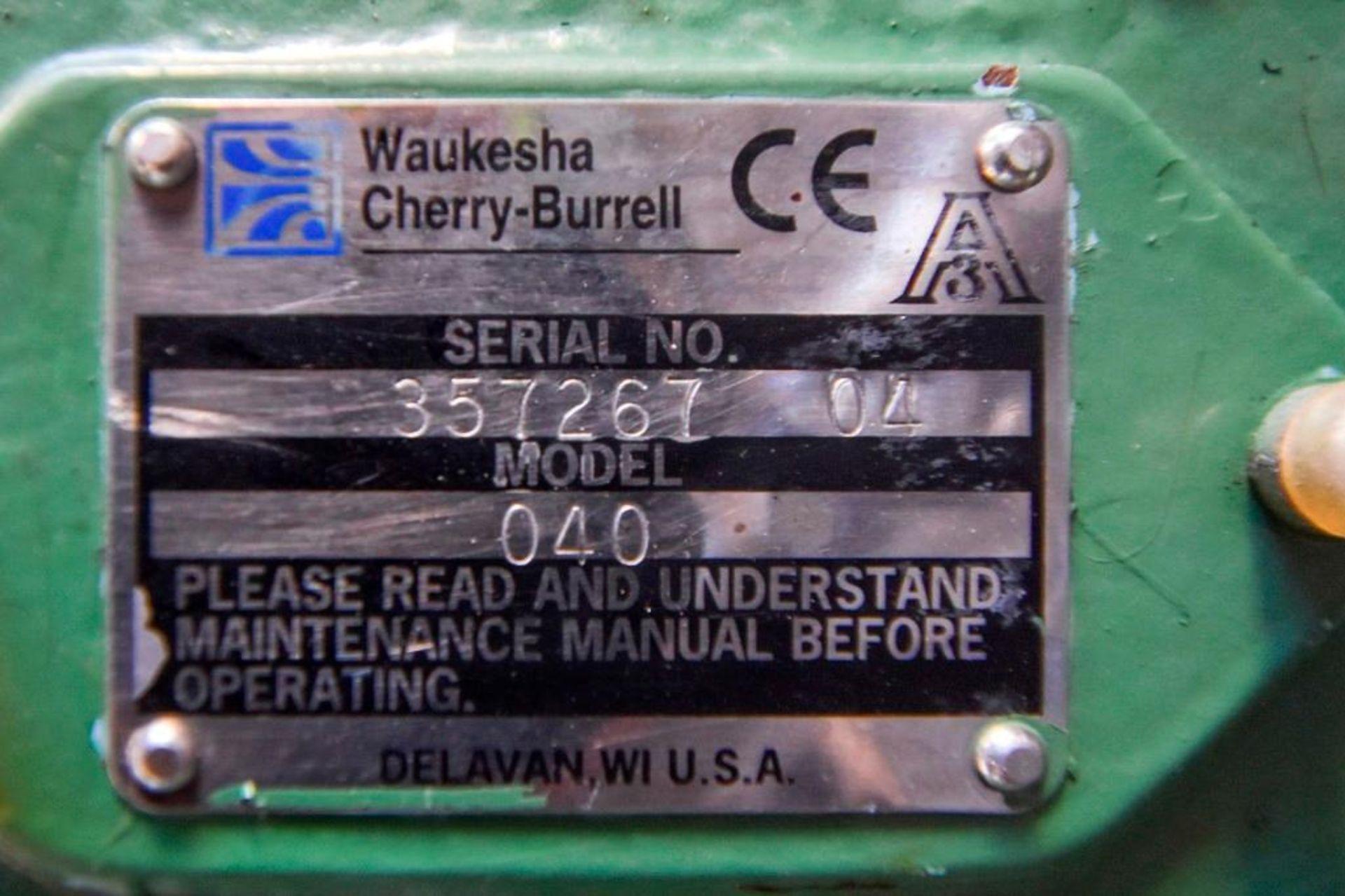 Cherry Burrel Positive Displacement Pump MDL 040 - Image 8 of 16