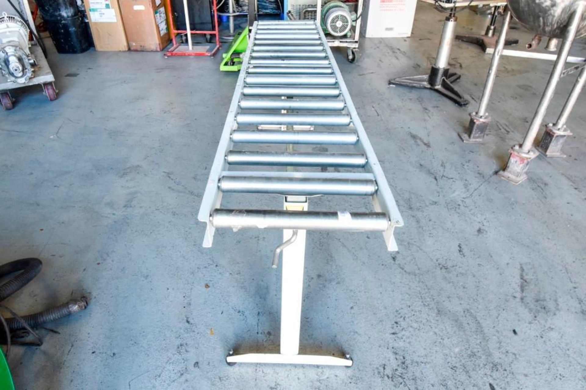 Super Duty Portable Folding Roller Conveyor 5'7'' - Image 9 of 11