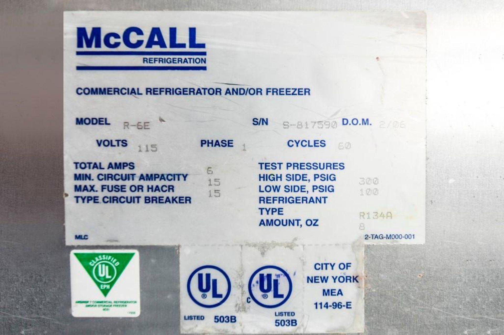 McCall Refrigerator R-6E - Image 10 of 10
