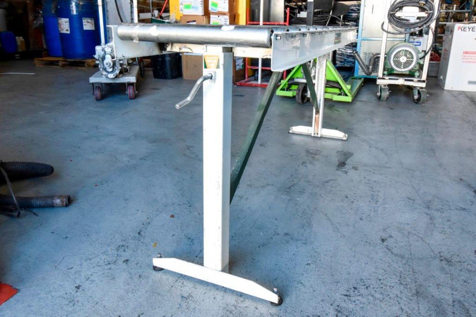 Super Duty Portable Folding Roller Conveyor 5'7'' - Image 10 of 11