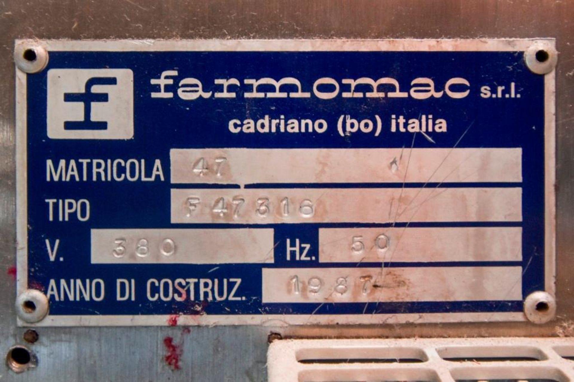 Farmomac Model 47 Monoblock Filler and Capper - Image 5 of 30