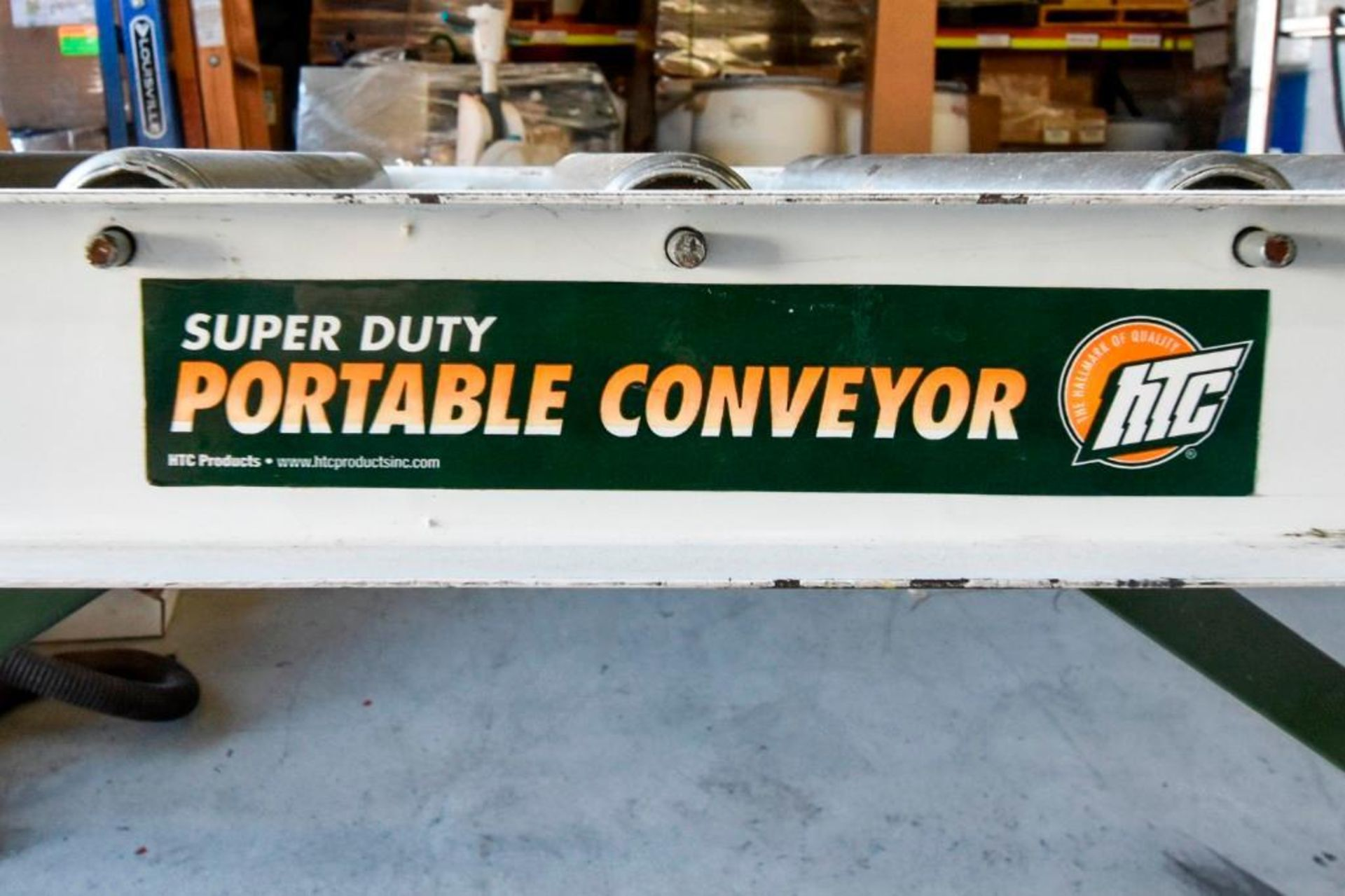Super Duty Portable Folding Roller Conveyor 5'7'' - Image 2 of 11