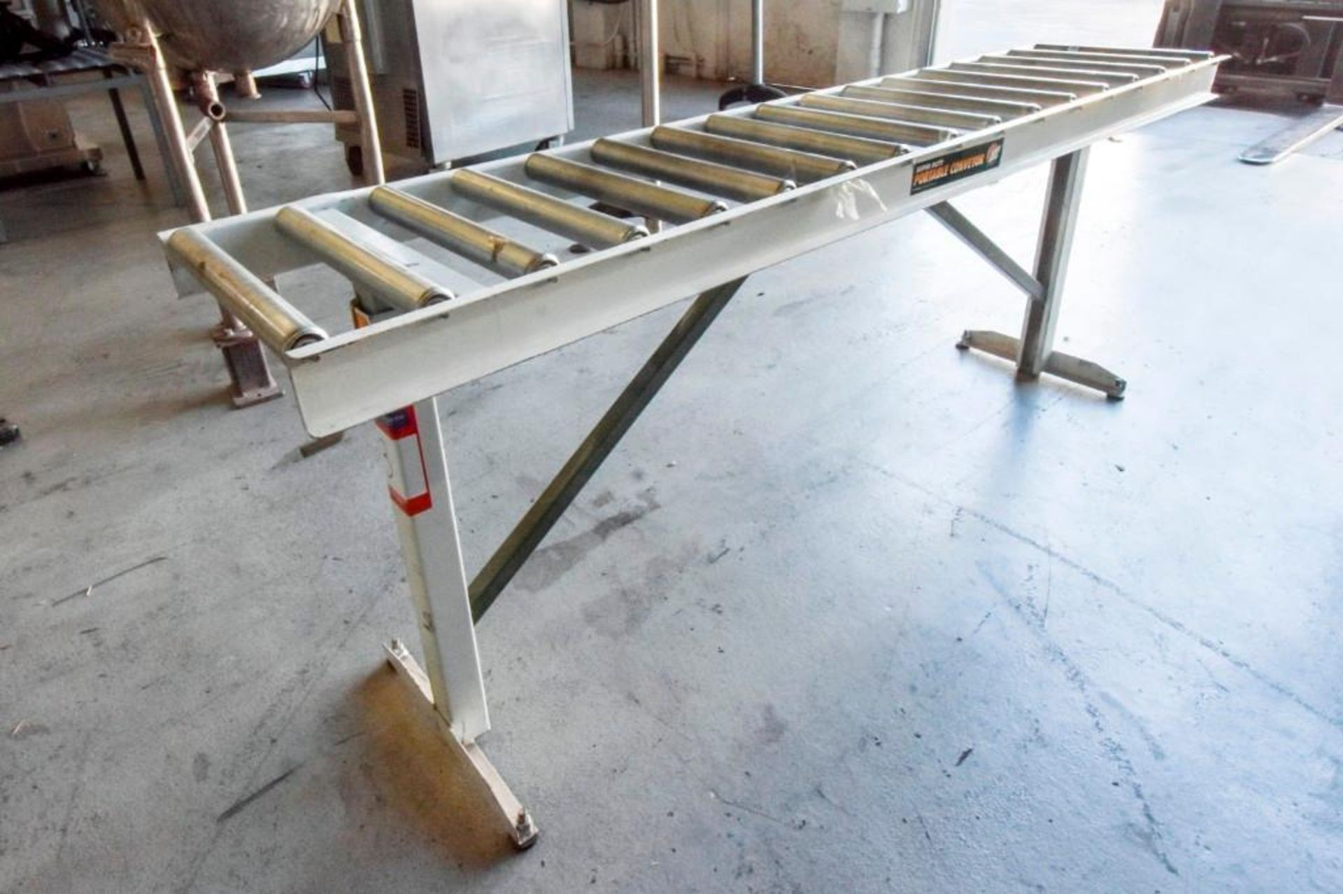 Super Duty Portable Folding Roller Conveyor 5'7'' - Image 6 of 11