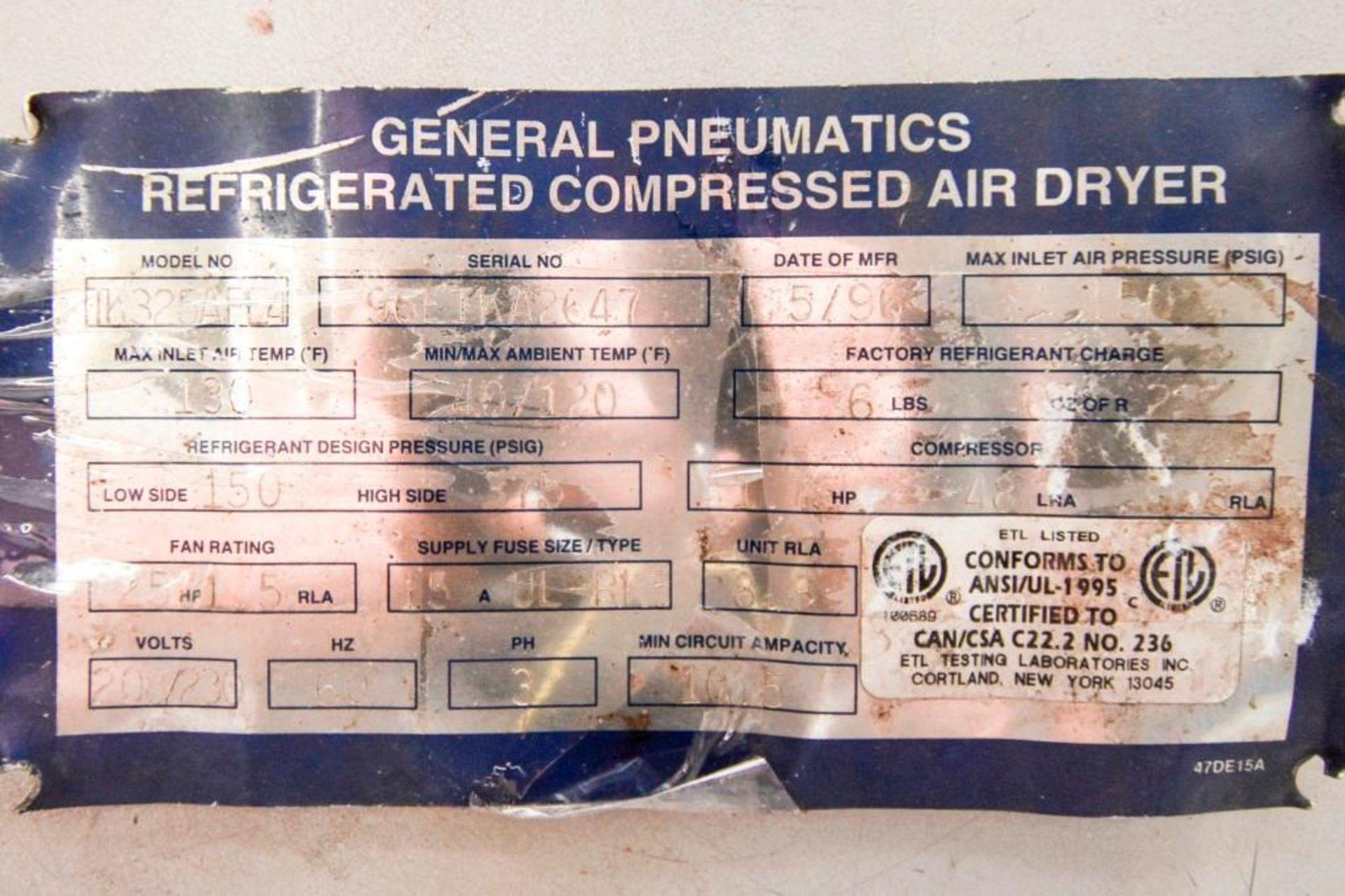 General Pneumatics Compressed Air Dryer - Image 8 of 12