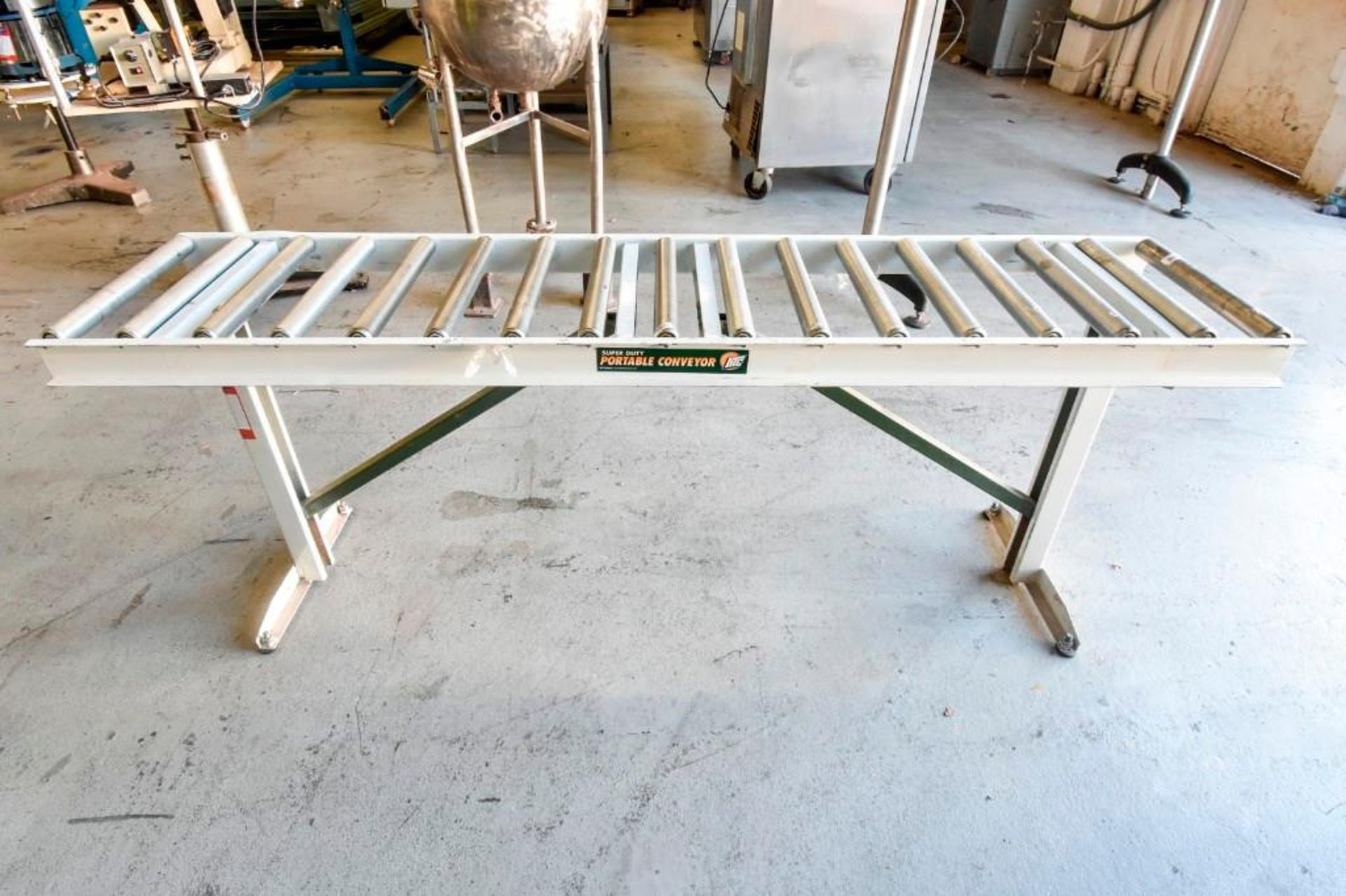 Super Duty Portable Folding Roller Conveyor 5'7'' - Image 7 of 11