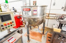 2/3 Jacketed With High Speed Agitation Mixer