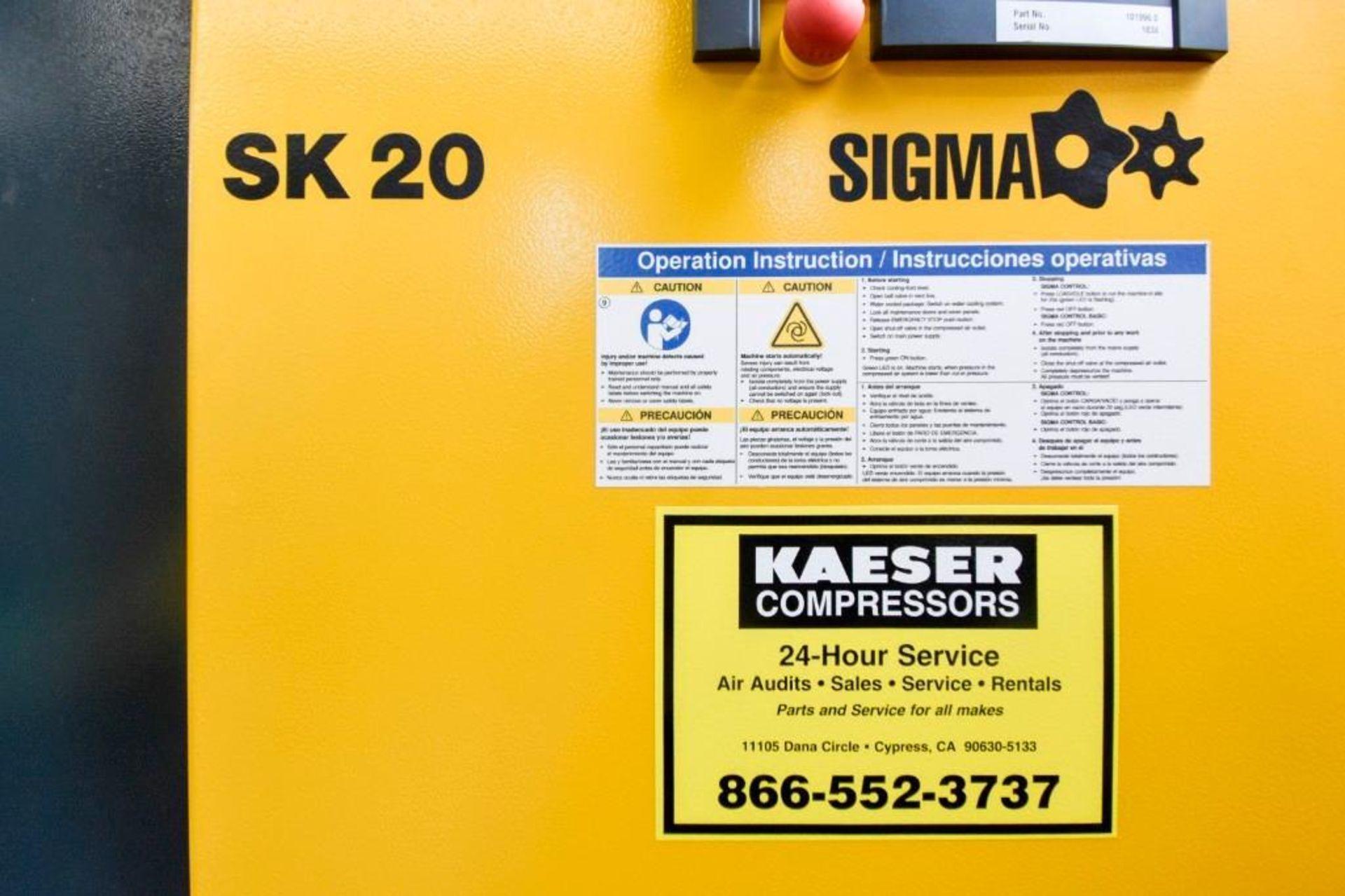 Kaeser Sigma Aircenter Compressor - Image 7 of 17
