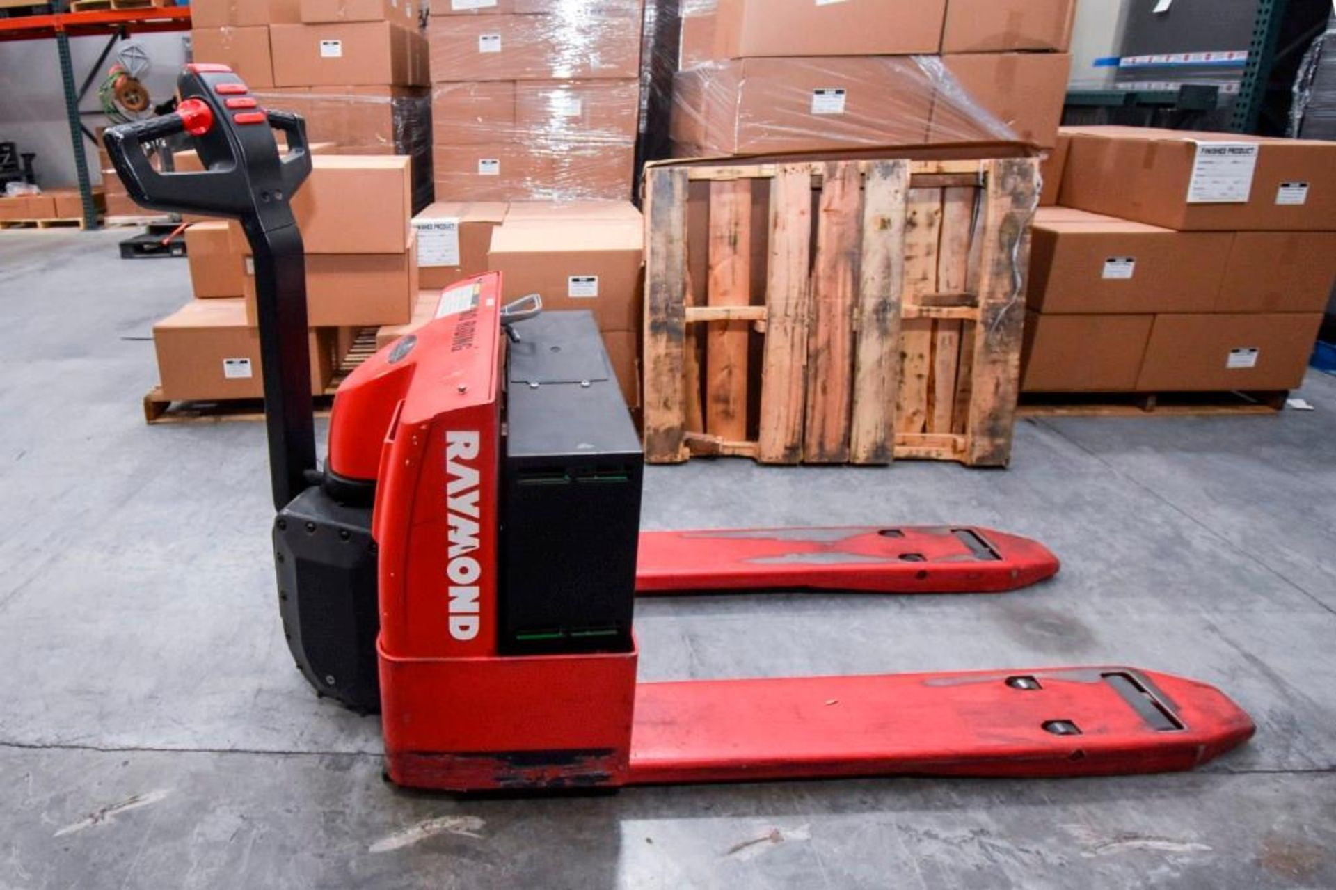 Raymond Electric Pallet Jack - Image 2 of 10