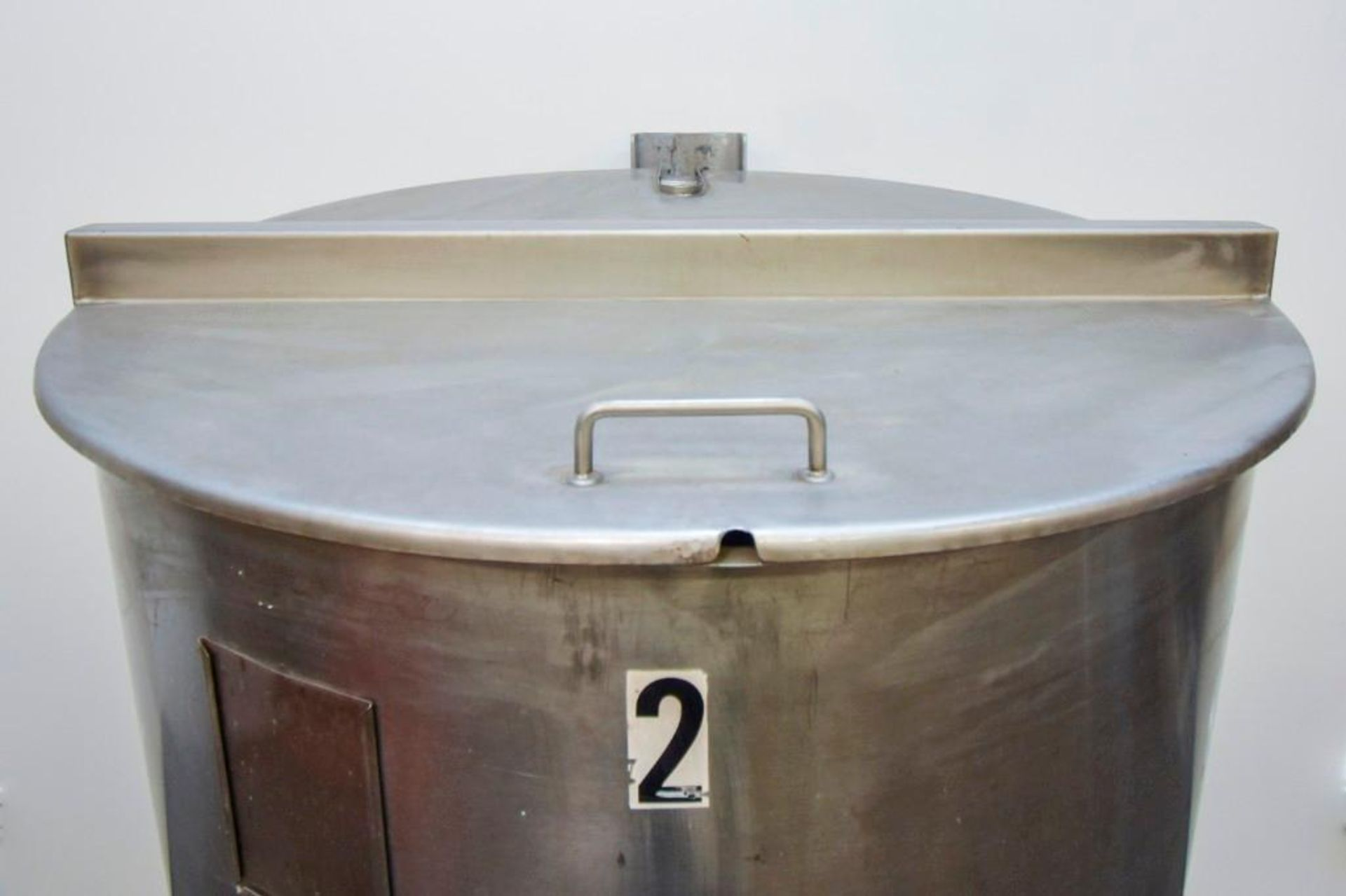 Stainless Steel Mixing/Holding Tank - Image 10 of 12