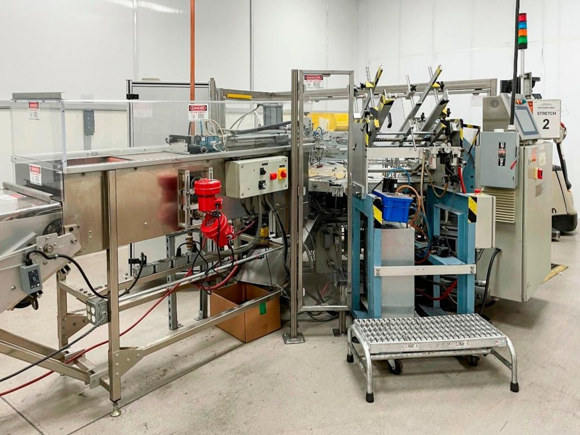 Sun Industries 8 station Blister Packaging Machine SBR-8 - Image 8 of 40