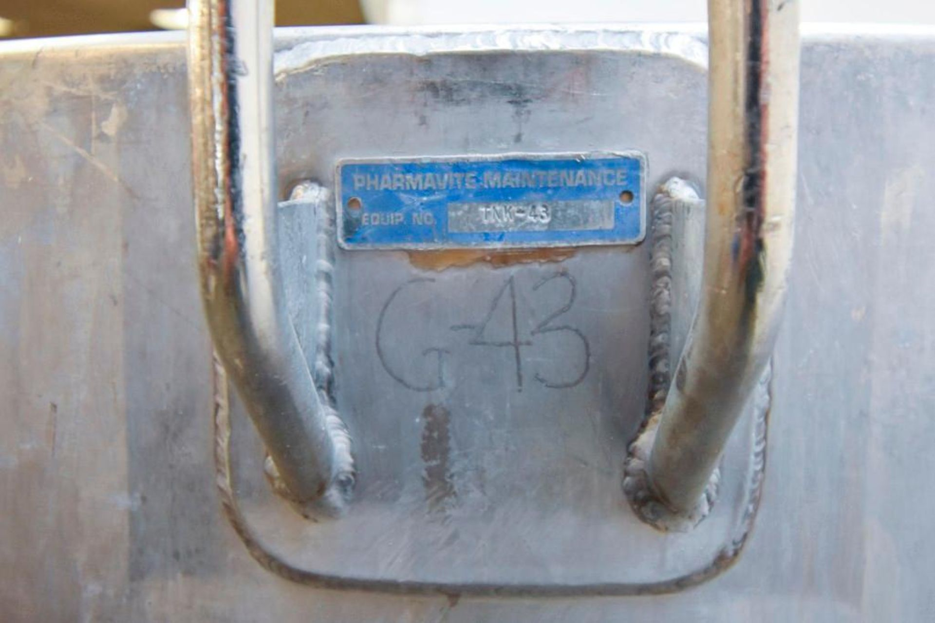 Jacketed Stainless Steel Holding Tank 340L - Image 11 of 11