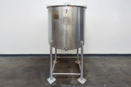 Stainless Steel Mixing/Holding Tank