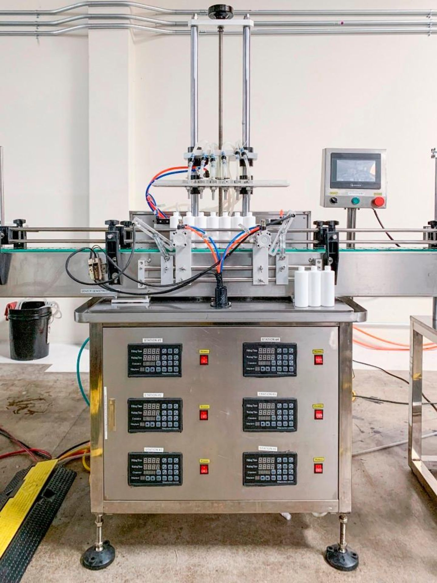 ProFill 6 Head Peristaltic Filling Machine