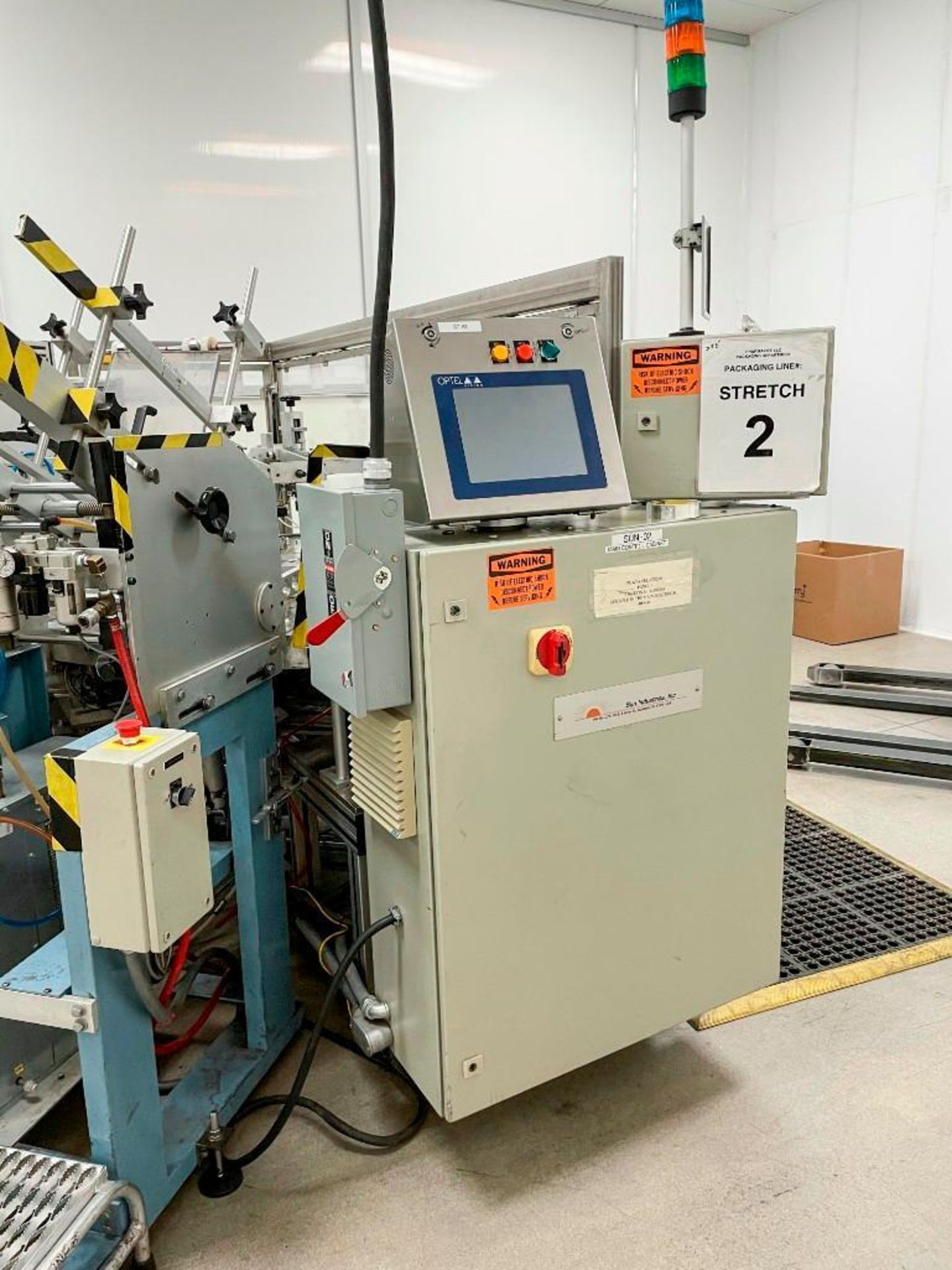 Sun Industries 8 station Blister Packaging Machine SBR-8 - Image 7 of 40