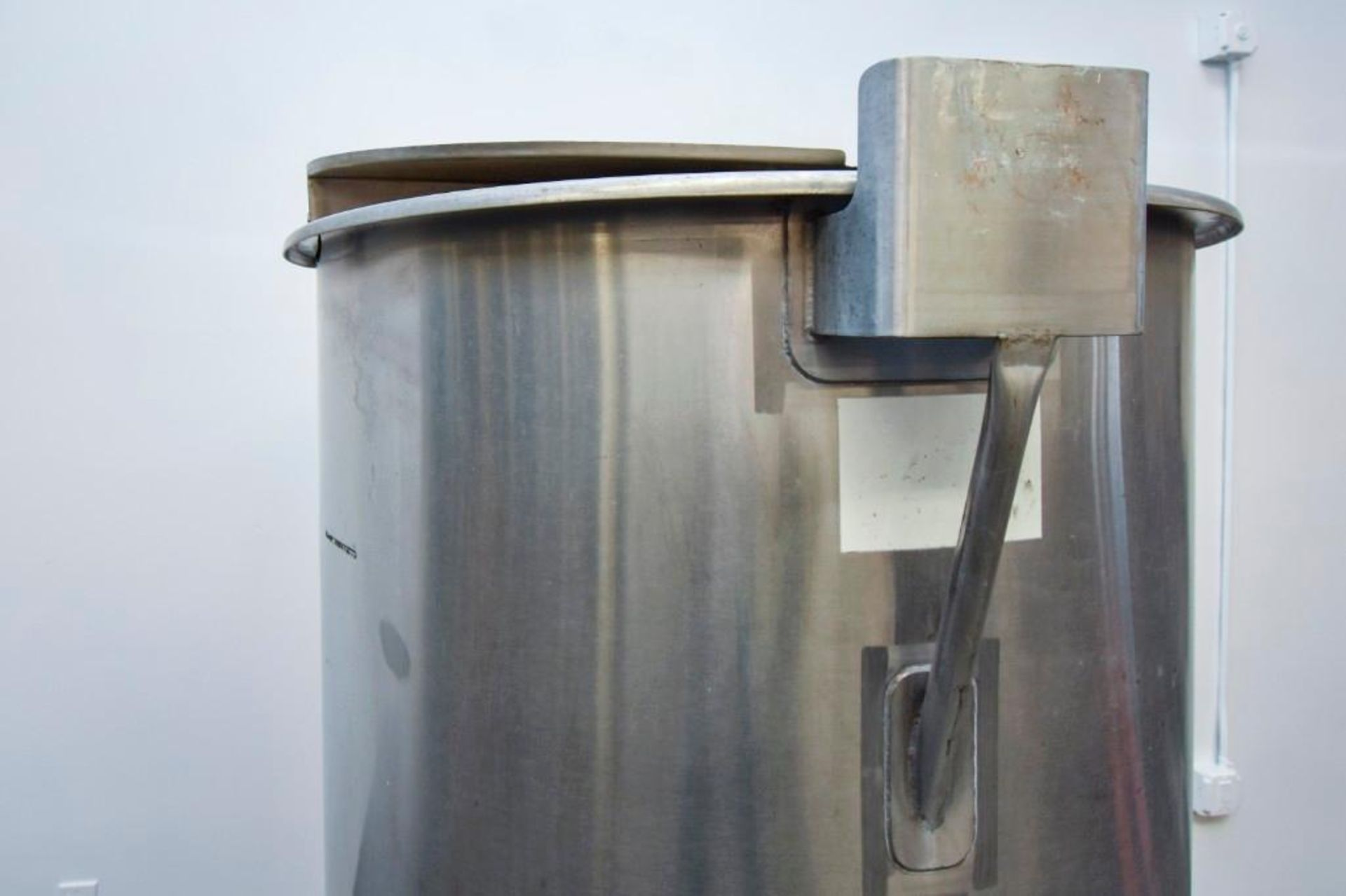 Stainless Steel Mixing/Holding Tank - Image 8 of 12