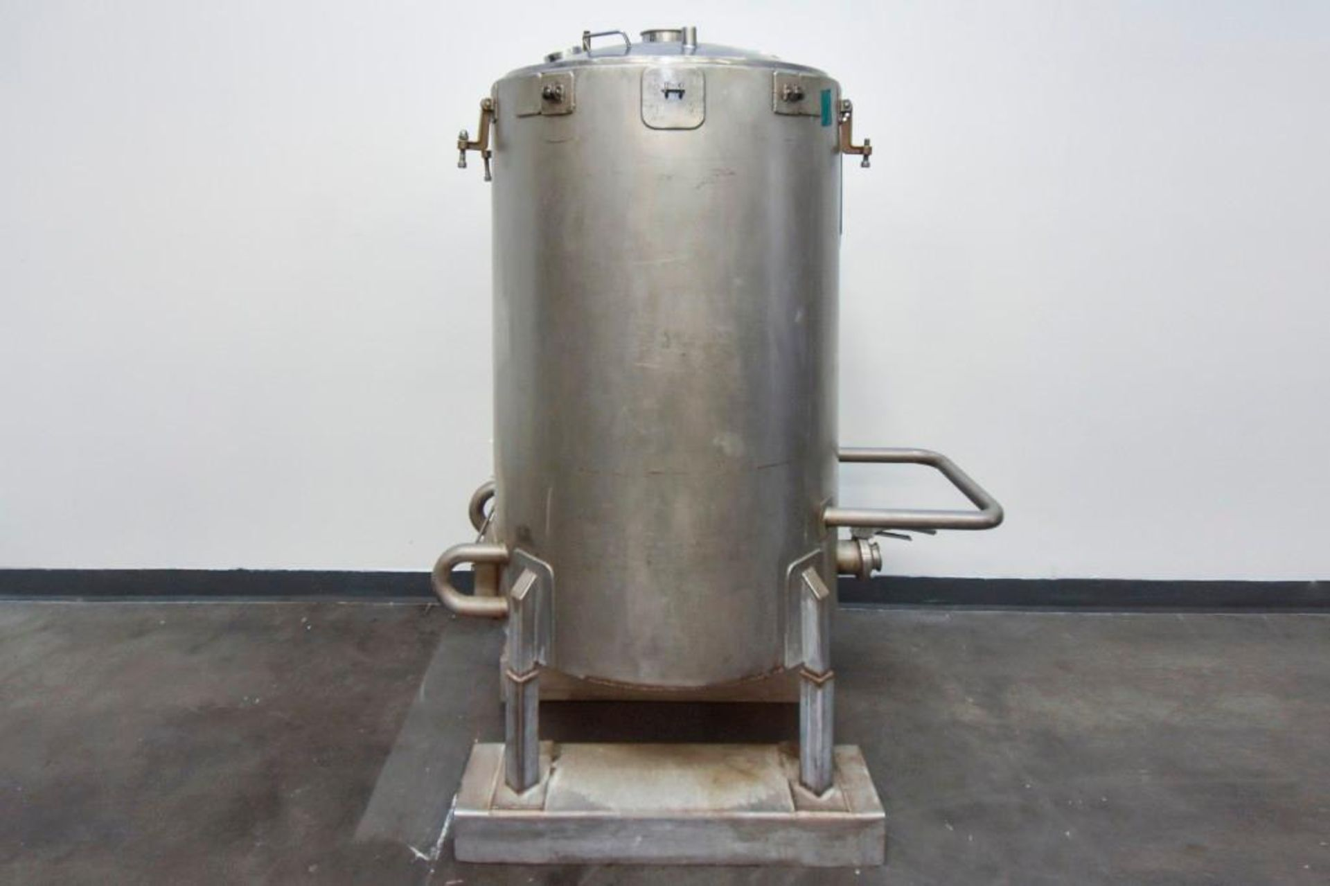 Jacketed Stainless Steel Holding Tank 340L - Image 5 of 18