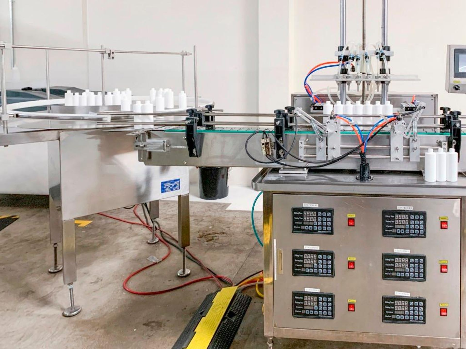ProFill 6 Head Peristaltic Filling Machine - Image 3 of 7