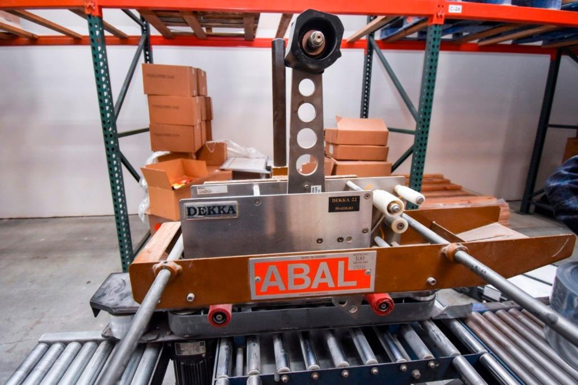 Abal 100-1 Top Box Taper with Extra Tape Head - Image 8 of 19