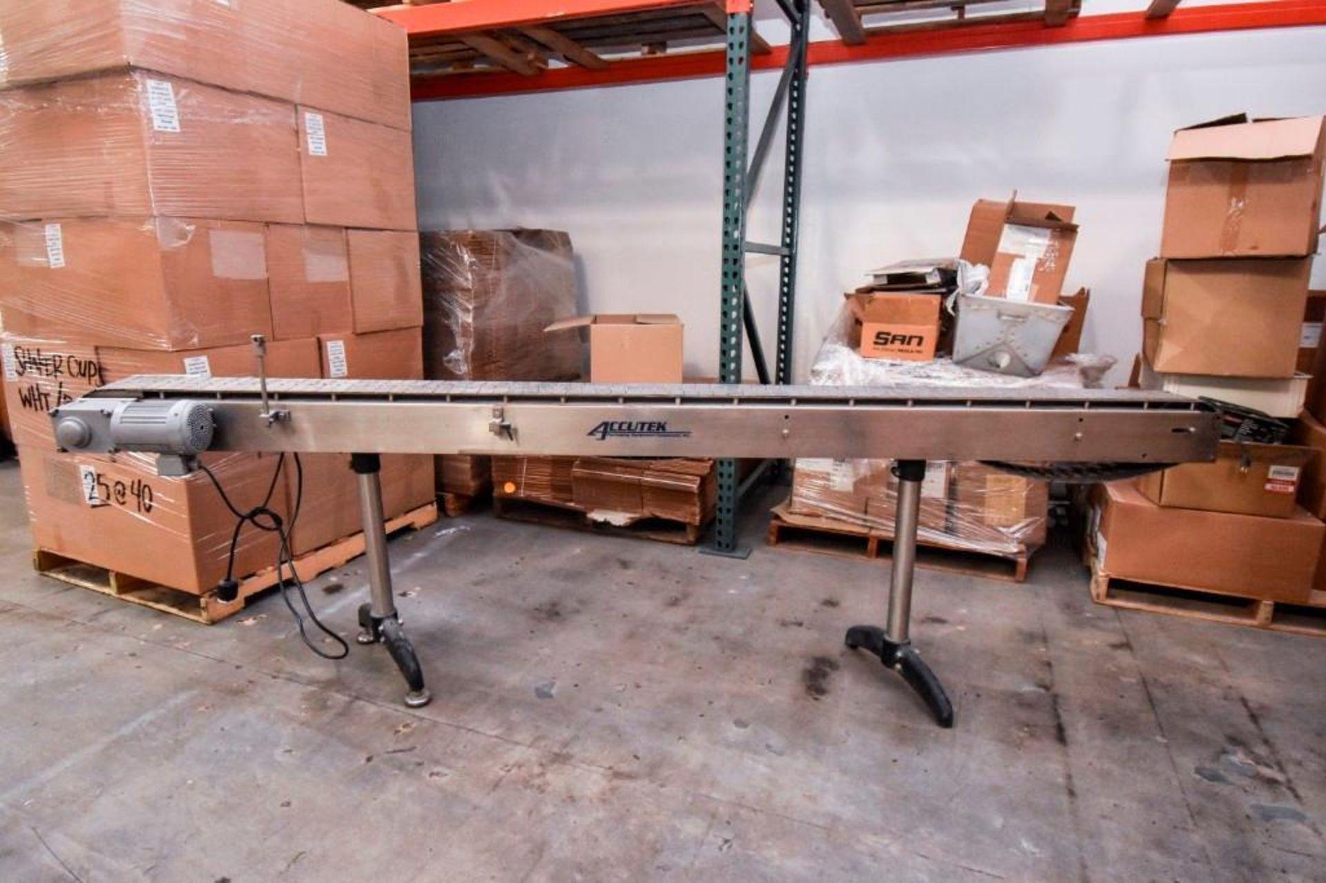 Accutek Variable Speed Conveyor