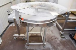 Pharmafill Bottle Unscrambling Table TTF36 36 in