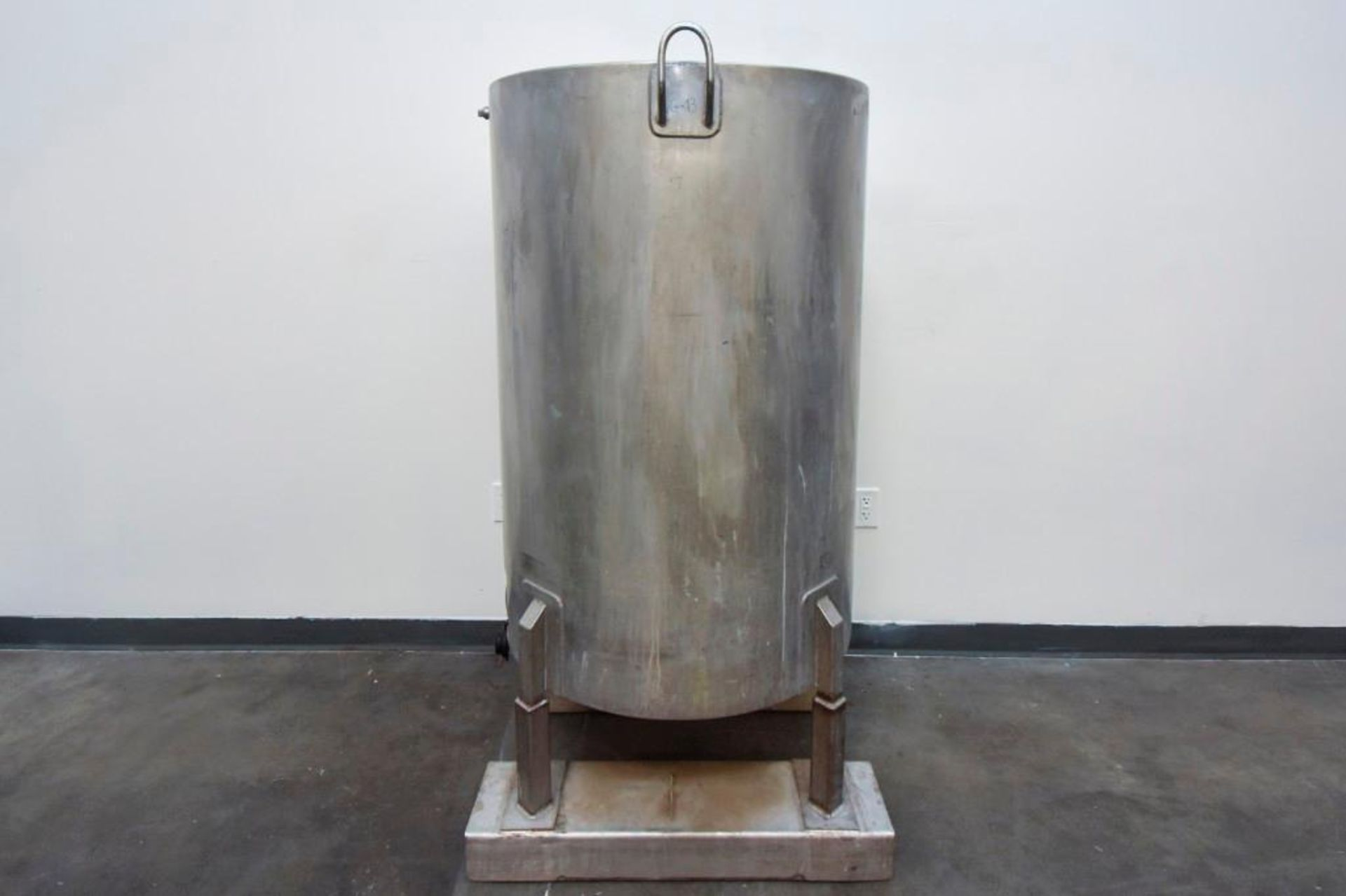 Jacketed Stainless Steel Holding Tank 340L - Image 3 of 11
